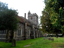 Wooburn, St Paul's church, Buckinghamshire © Bikeboy